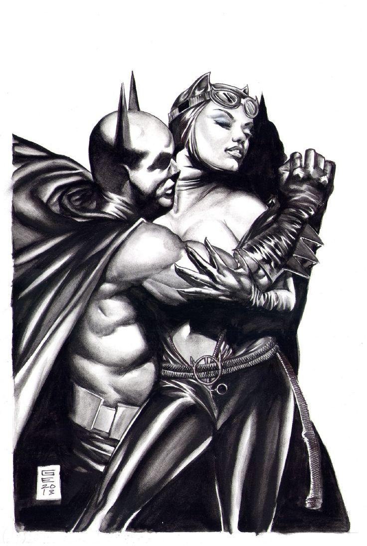 Kostenlose Batman und Catwoman xxx Comics