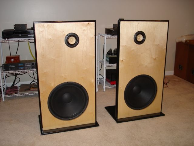 Ob With Fostex Fe87e And Eminence Alpha 15a Open Baffle