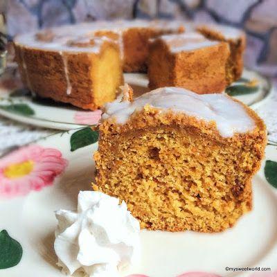 Sweetys World: Möhrenkuchen mit Gojiibeeren und Zitronenguss, vegan