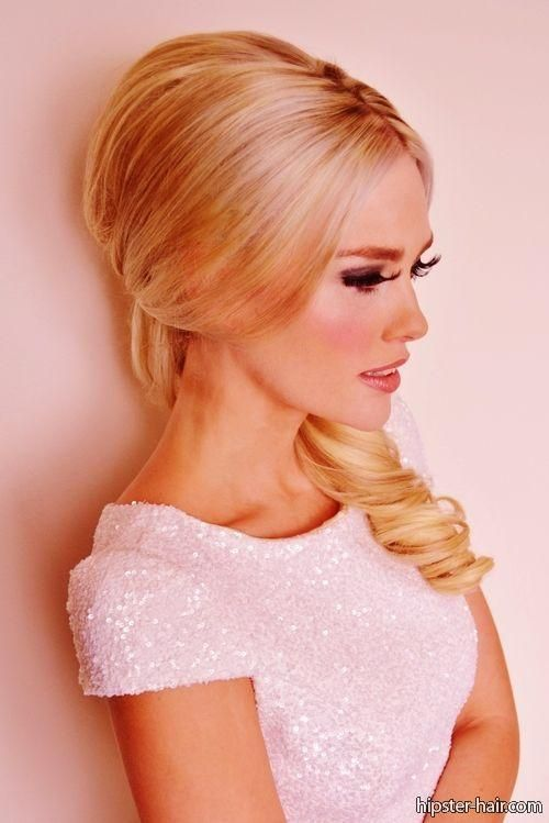 long, blonde, bouffant hair at Hipster Hair : Hairstyle Photo Search