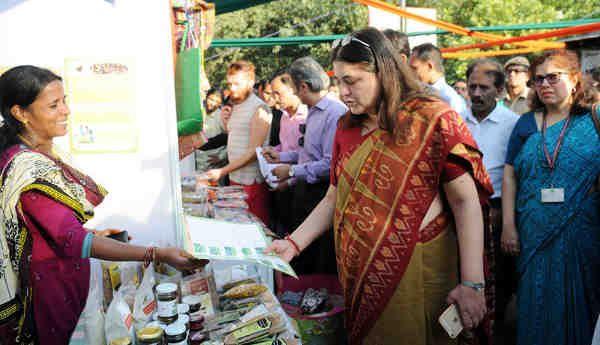 Women Entrepreneurs Showcase Organic Products in Delhi
