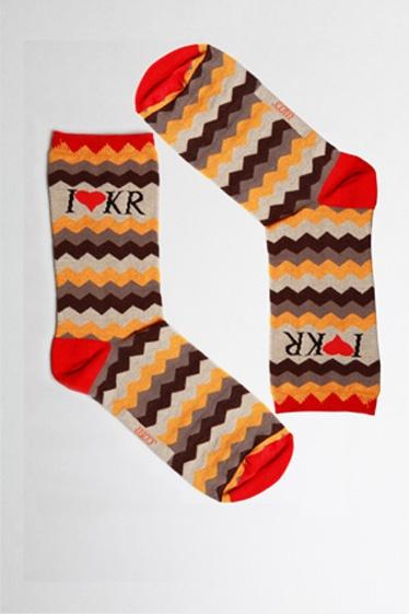 Tulismanore.com | socks | I <3 KR ZigZag