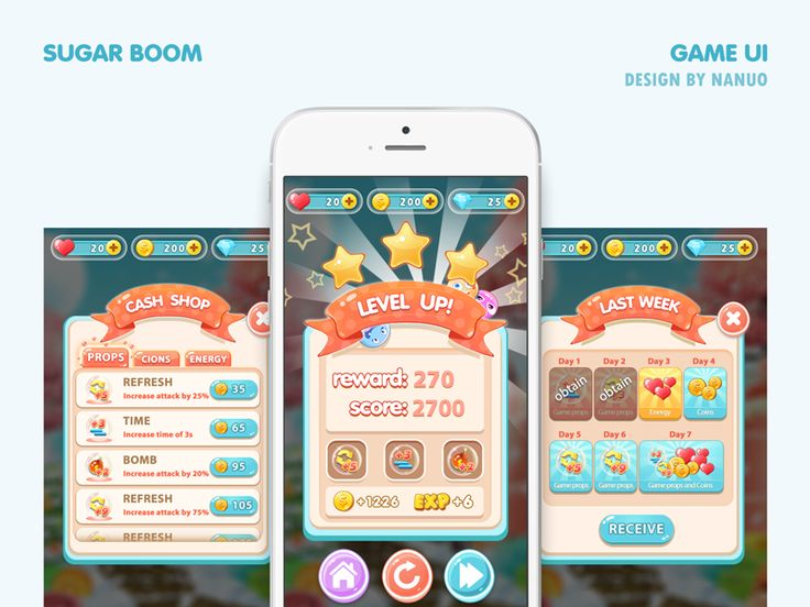 Game Interface Design by Nanuo🚀