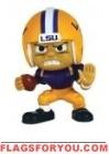 """LSU Tigers Lil' Teammates Series 3 Running Back 2 3/4"""" tall"""