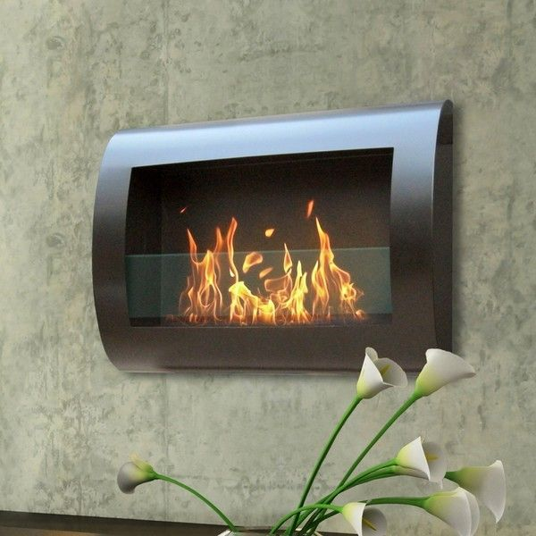 Anywhere Fireplace Chelsea Fireplace Black In 2020 Ethanol Fireplace Wall Mounted Fireplace Bioethanol Fireplace