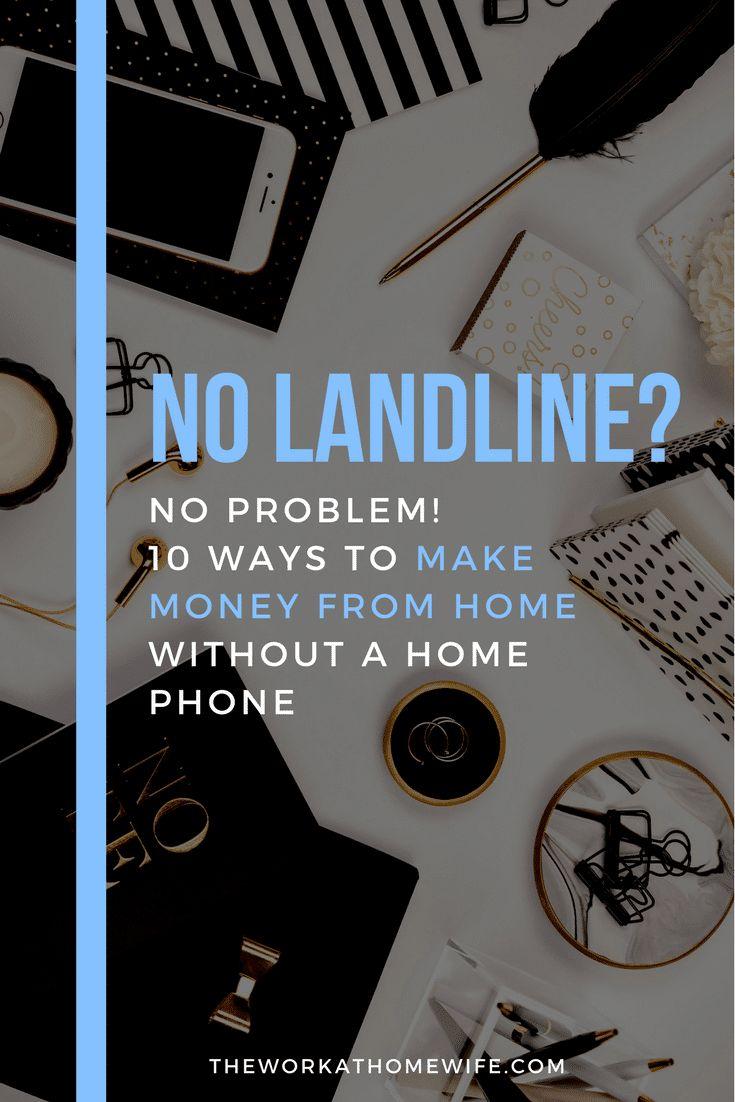 Work From Home: No Landline Needed