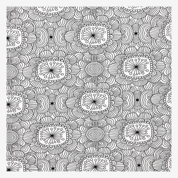 Kukkatarha (musta/valkoinen luomutrikoo)   Verson Puoti