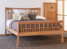 Modern Mission Style: Bedrooms Sets, Craftsman High, Platform Beds, Craftsman Bedrooms, Bedrooms Furniture, Contemporary Craftsman, Footboard Beds, Bedrooms Ideas, High Footboard