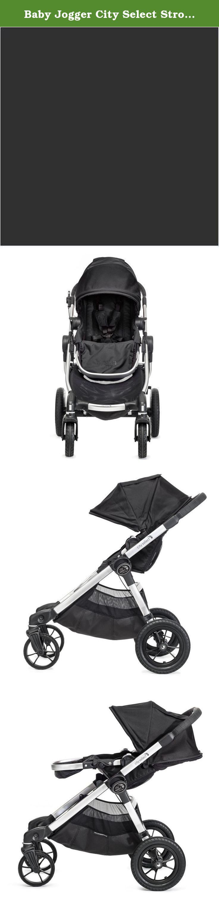 Baby Jogger City Select Stroller In Onyx. Our most