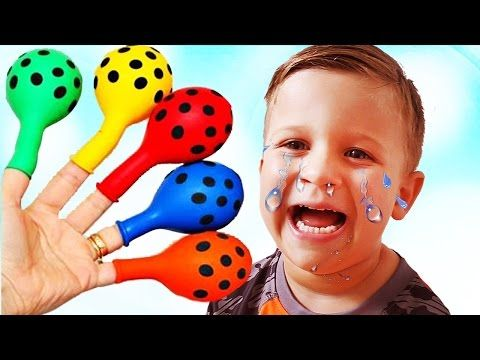 Learn colors with Baby and Сandy, Songs Finger Family and Nursery Rhymes for Kids - YouTube