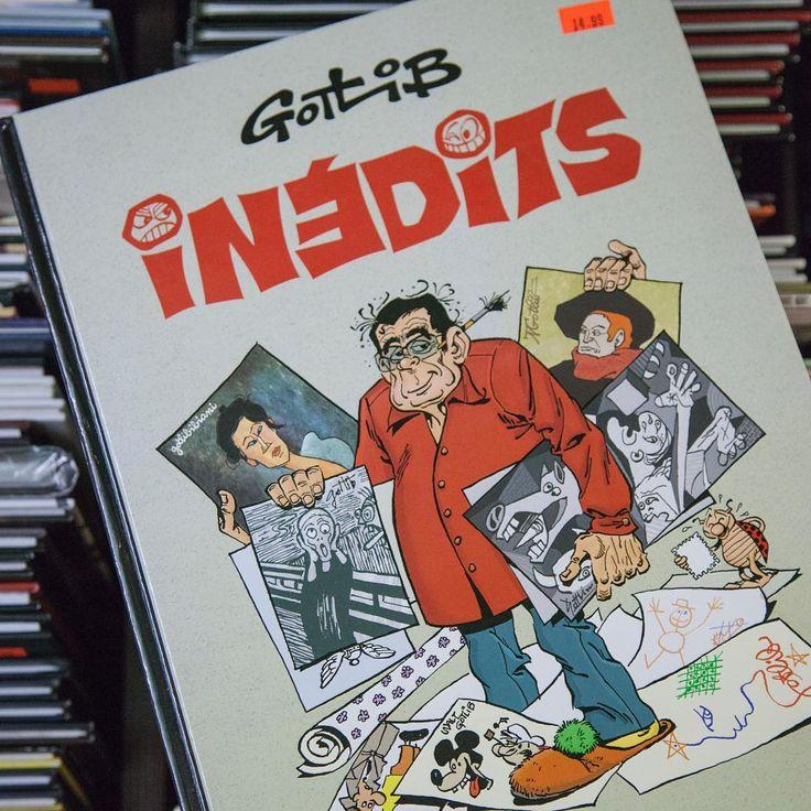 #Gotlib #Inedits #LibrairieVolume #BD #Librairie #Montreal #Livres #MtL #MTLmoments #BerriUQAM #UQAM #ruestecatherine