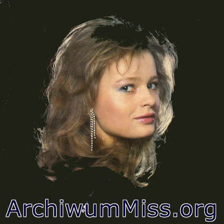 https://flic.kr/p/AmyAwN | Miss Polonia 1985 | Katarzyna Zawdizka Miss Polonia…
