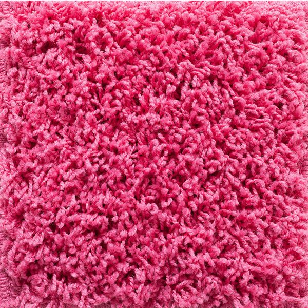 Somette Vista Brights Pink Area Rug (Polypropylene ($76) ❤ Liked On  Polyvore Featuring