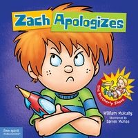 Zach Apologizes is a picture book that teaches kids how to do a four square apology.: Books, William Mulcahy, Rules Series, Social Skills, Apologizes Zach, Zach Rules, Zachapologizes, Zach Apologizes, Kid
