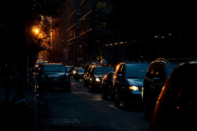 New York City Buildings by hebiflux, via Flickr