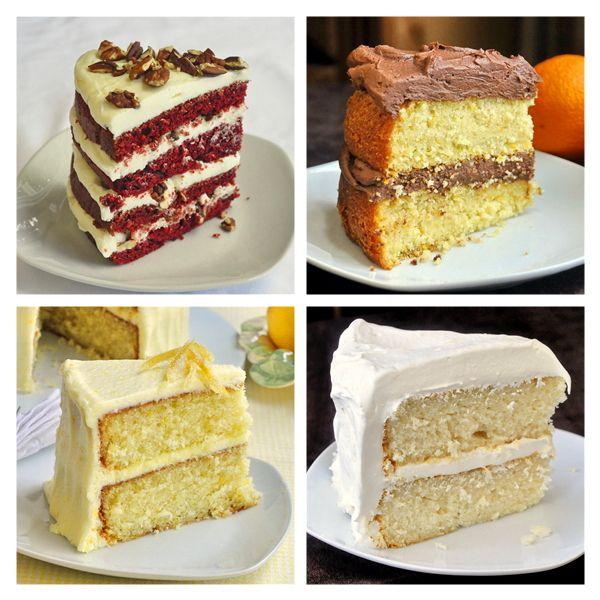The Velvet Cake Collection - Red Velvet, Orange Velvet, Lemon Velvet and White Velvet :)