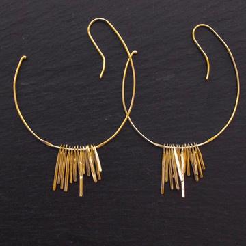 Vertical Hoop Earrings from Beroep