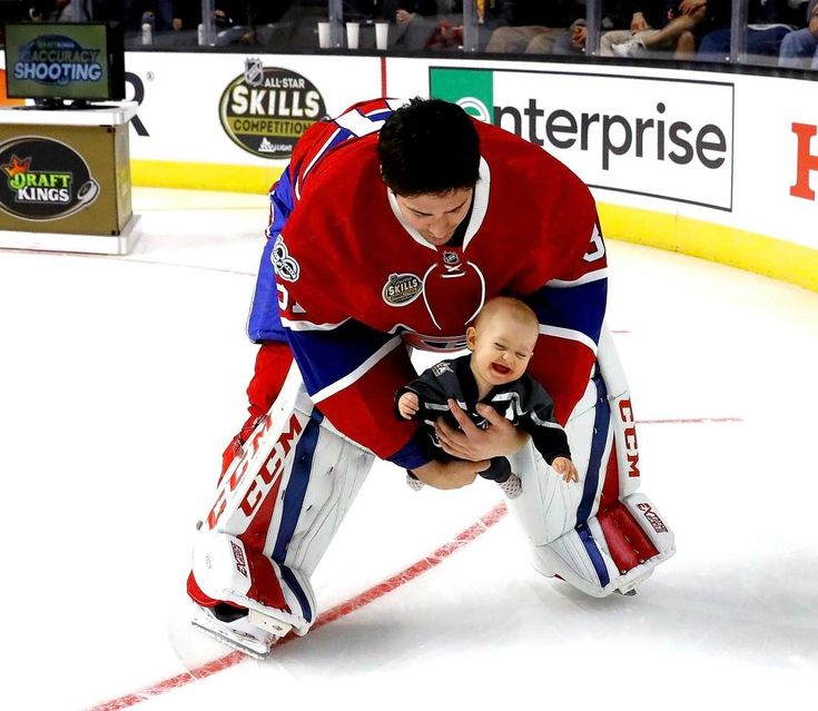 Possibly the cutest photo of Carey Price ever....