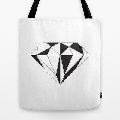 Diamond Tote Bag by Klaff Design - $22.00