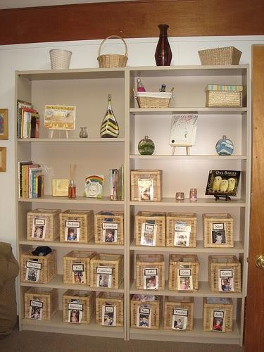 Shelf beautiful display