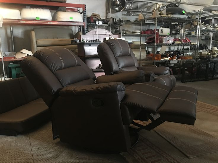 Brown RV Recliners at Arizona RV Salvage in AZ.