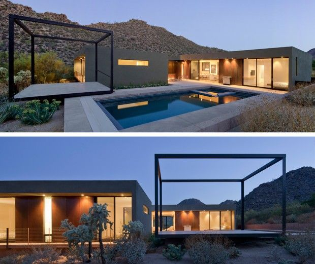 Levin residence outside tucson arizona by ibarra rosano design architects photo by bill timmerman