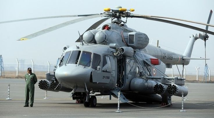 Indian Air Force Inducts Armed Multi-Purpose Transport Russian Mi-17V-5 Helicopters.