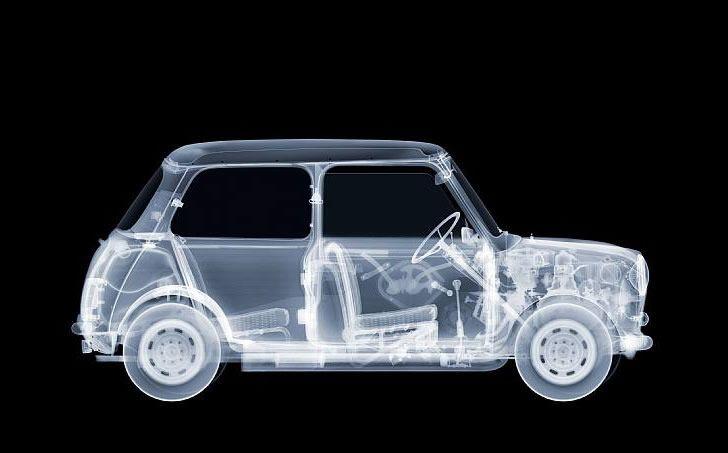 see through mini car
