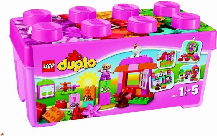Lego Duplo 10571 Růžový box plný zábavy - 0