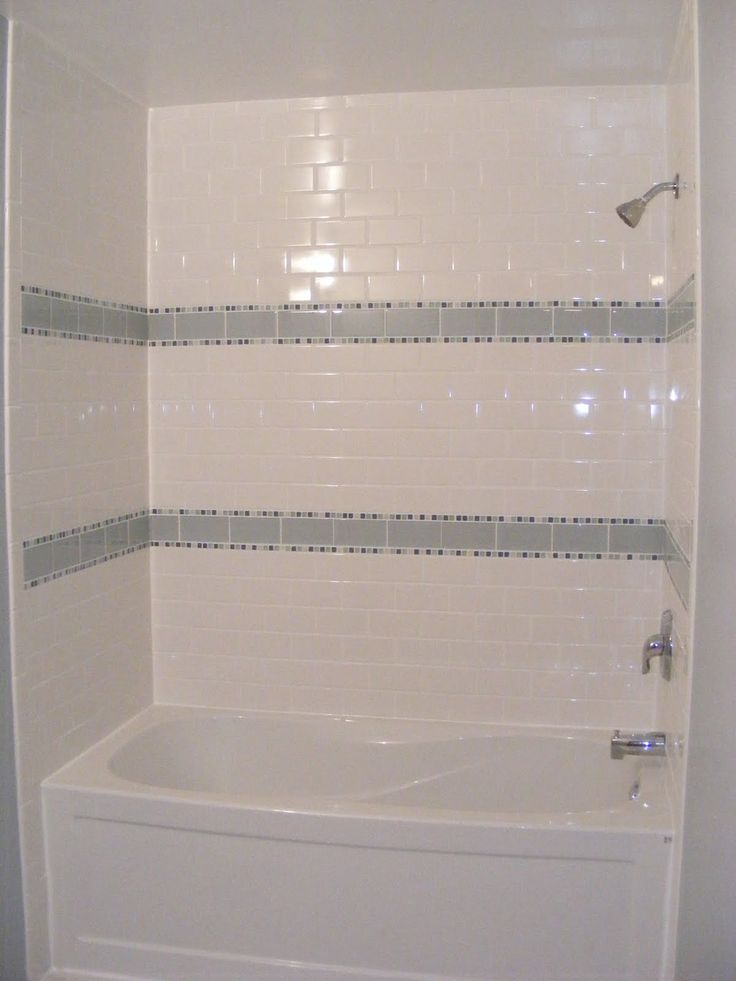 Best 25 accent tile bathroom ideas on pinterest grey for White ceramic tile bathroom