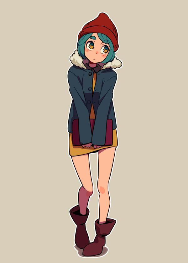 Diseño personaje - inspiracion de ilustrador que me gusta
