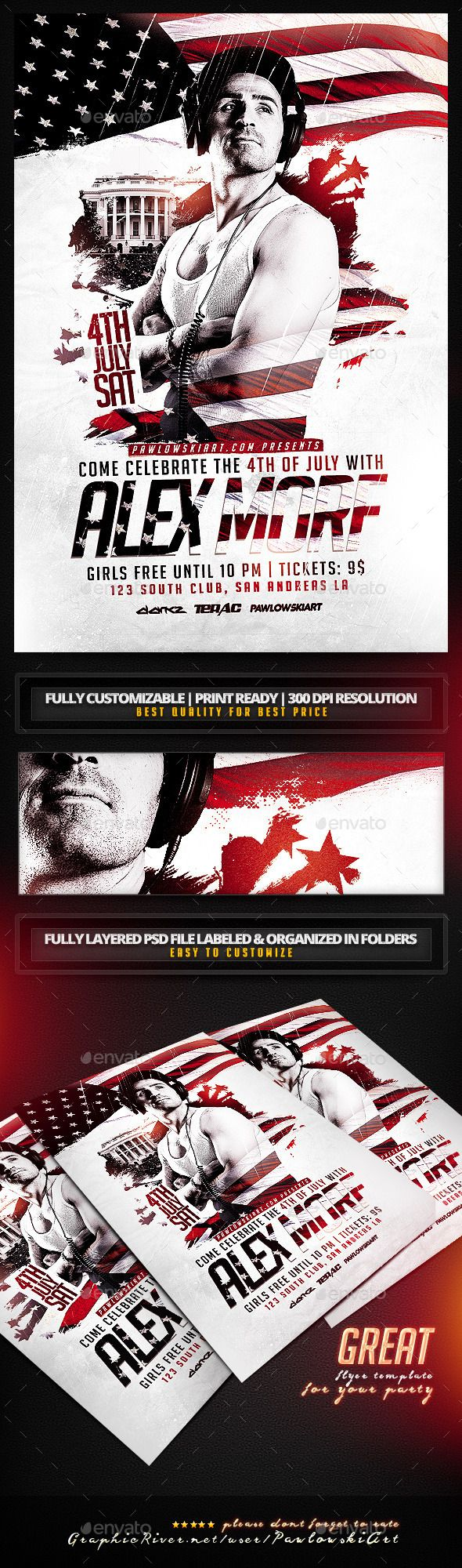 best ideas about flyer design templates flyer 4th of special guest party flyer template