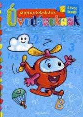 - Játékos feladatok óvodásoknak (kék) - Ebben a meglepetésekkel teli könyvecskében szórakoztató feladatokat és kedves rajzokat találsz. Segítségükkel játszva tanulhatsz. Itt az ideje, hogy elővedd a legszebb színes ceruzáidat. Számolj, színezz, gyakorolj, légy te a legügyesebb óvodás!