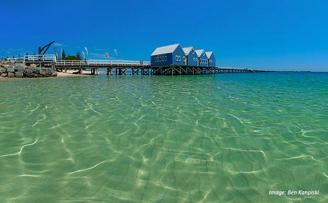 The Busselton Jetty is the longest wooden pier in the southern hemisphere - it stretches 1.8km into the sparkling waters of Geographe Bay! Suggested social function venue: The Goose, with extraordinary views of the Jetty. A perfect blend.