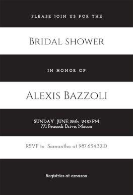 36 best Bridal Shower Invitation Templates images on Pinterest