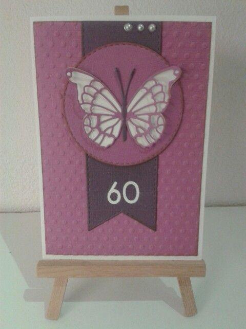 Invitation 60 års fødselsdag