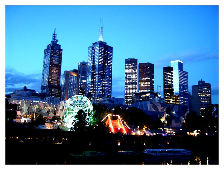 Melbourne ~ where my dearest friend lives