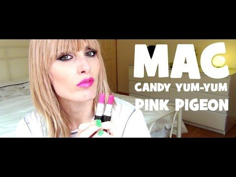 MAC SWATCHES - Candy Yum-Yum Vs Pink Pigeon  | MICHELA ismyname ❤️
