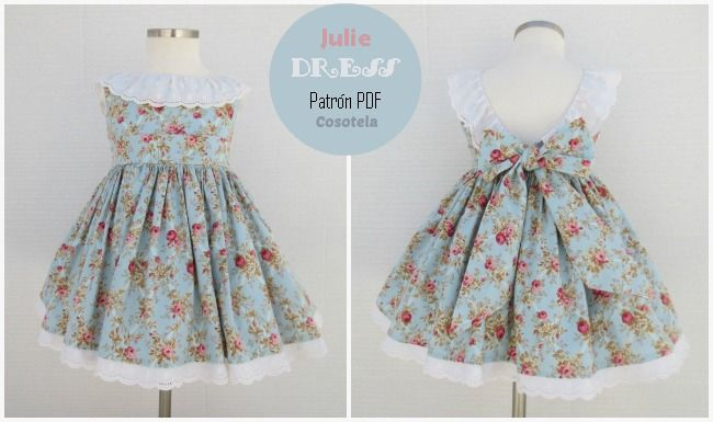 Cosotela: Patrón Julie Dress