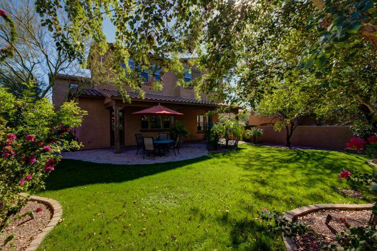 backyard, grassy, shaded, Arizona Real Estate