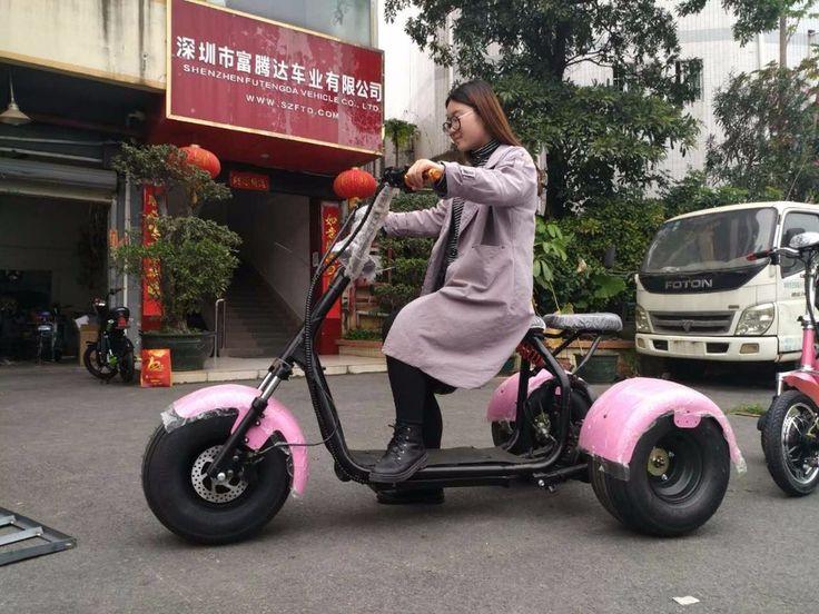 new off-road electric trike scooter 500w 1000w 1500w