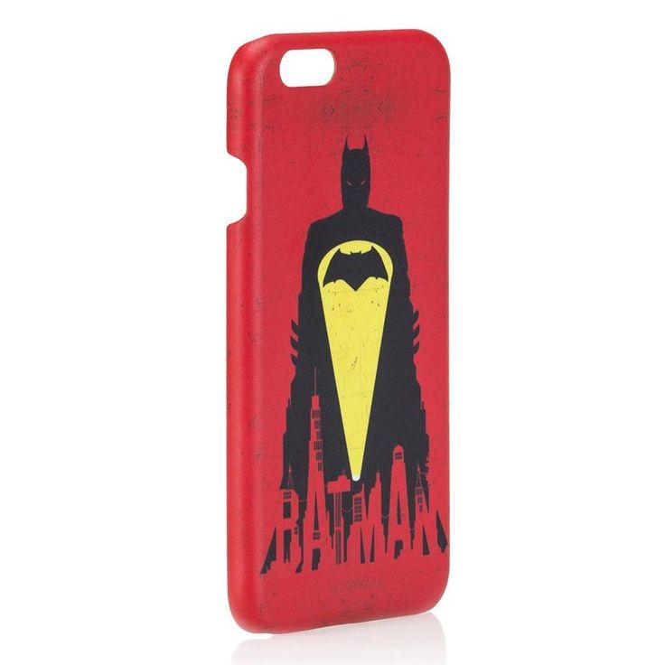 dekodukkan - Batman v Superman Kırmızı iPhone 6/6S Kapak