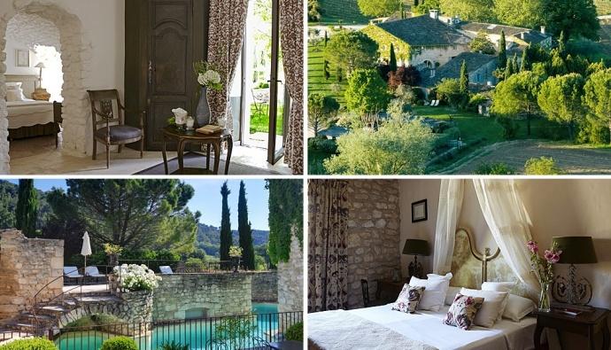 Лавандовые поля, кустовые розы, ароматное розмариновое масло — в сумме вышеперечисленное идеально характеризует французскую провинцию Прованс, где 13 лет назад открылся уникальный по дизайну и атмосфере шато-отель La Bastide de Marie