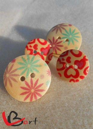 Kupuj mé předměty na #vinted http://www.vinted.cz/doplnky/nausnice/18269931-nausnice-knofliky-nuk80