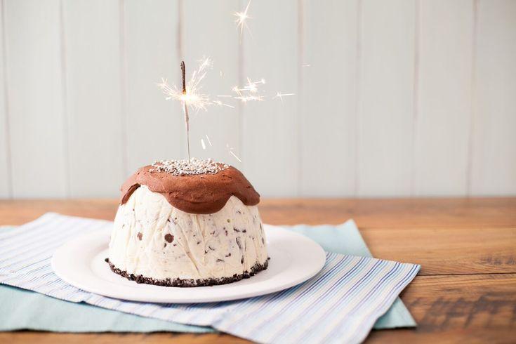 Rocky Road Ice-Cream Bombe - ILoveCooking