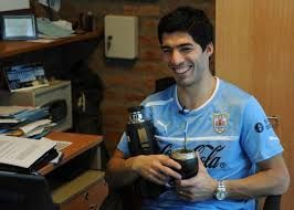 Suarez, soccer star of  Barcelona, football club