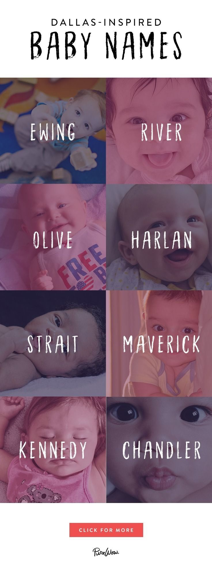 18 noms de bébé inspirés par Dallas qui sont trop mignons pour les mots