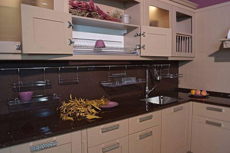 Кухня «кондитерского» цвета - кофе, капучино, шоколад