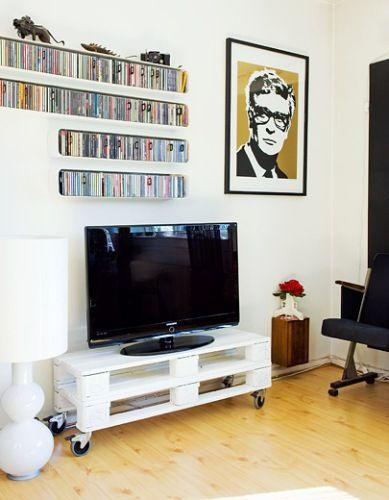 ideias de interiores decoracao de interiores lda:1000 ideias sobre Racks Para Tv De Paletes no Pinterest
