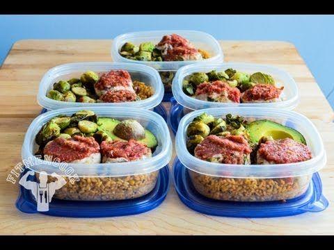 Turkey Meat Loaf Minis Meal Prep #prepday